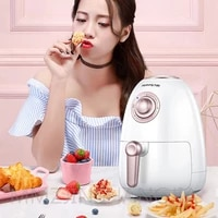 intelligent air fryer home electric air fryer multifunction oil free air fryer 3 l household appliances three color selection