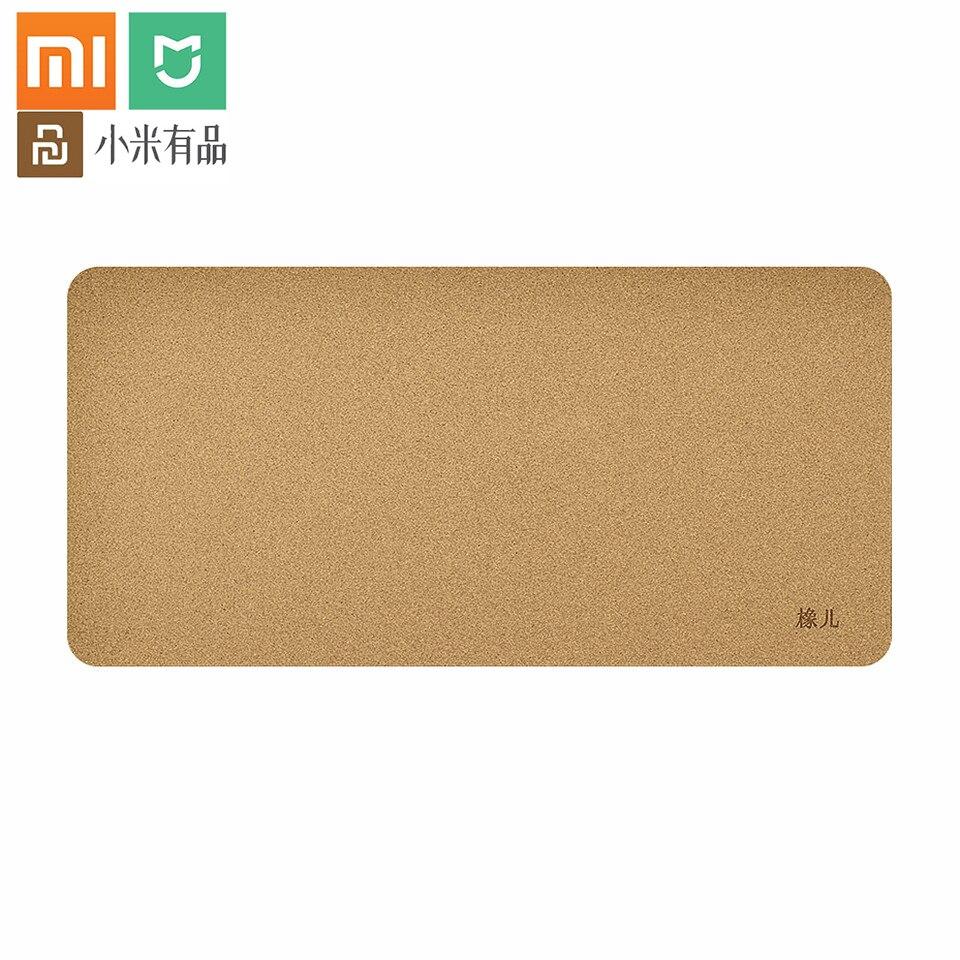 Xiaomi Youpin alfombrilla grande para ratón de madera de roble de Material impermeable Oficina Juego antideslizante alfombrilla de ratón portátil de ordenador alfombrilla para ratón de escritorio