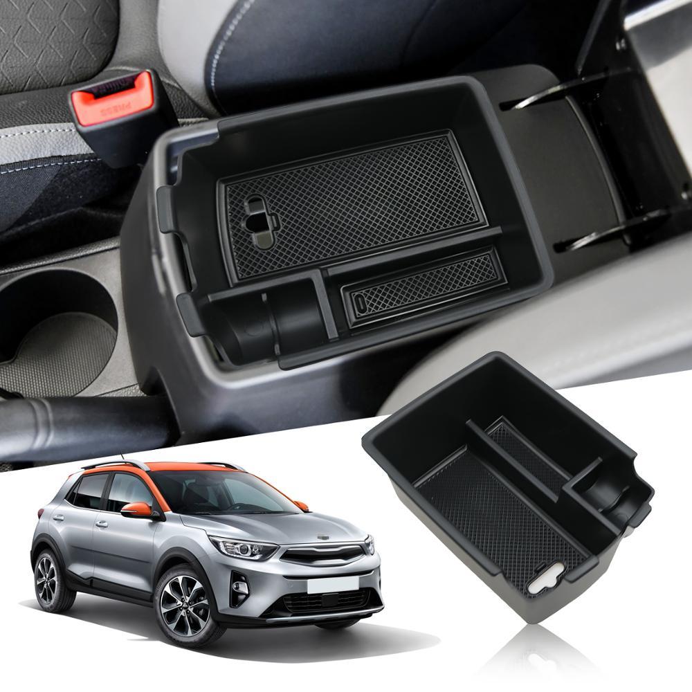 LFOTPP ящик для хранения в подлокотнике автомобиля для железным 2018 2019 2020 ящик для хранения на центральную панель управления авто аксессуары для интерьера черного цвета в европейском стиле