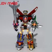 JOY MAGS seulement Kit déclairage Led pour 21311 idées série Voltron jouets ensemble déclairage Compatible avec 16057 39125 11011 aucun modèle de blocs