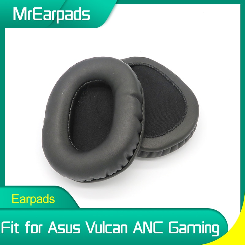 MrEarpads Earpads For Asus Vulcan ANC Active Noise Cancelling Pro Gaming Headset Headband Rpalcement Ear Pads Earcushions монитор asus tuf gaming vg27aq 27 черный