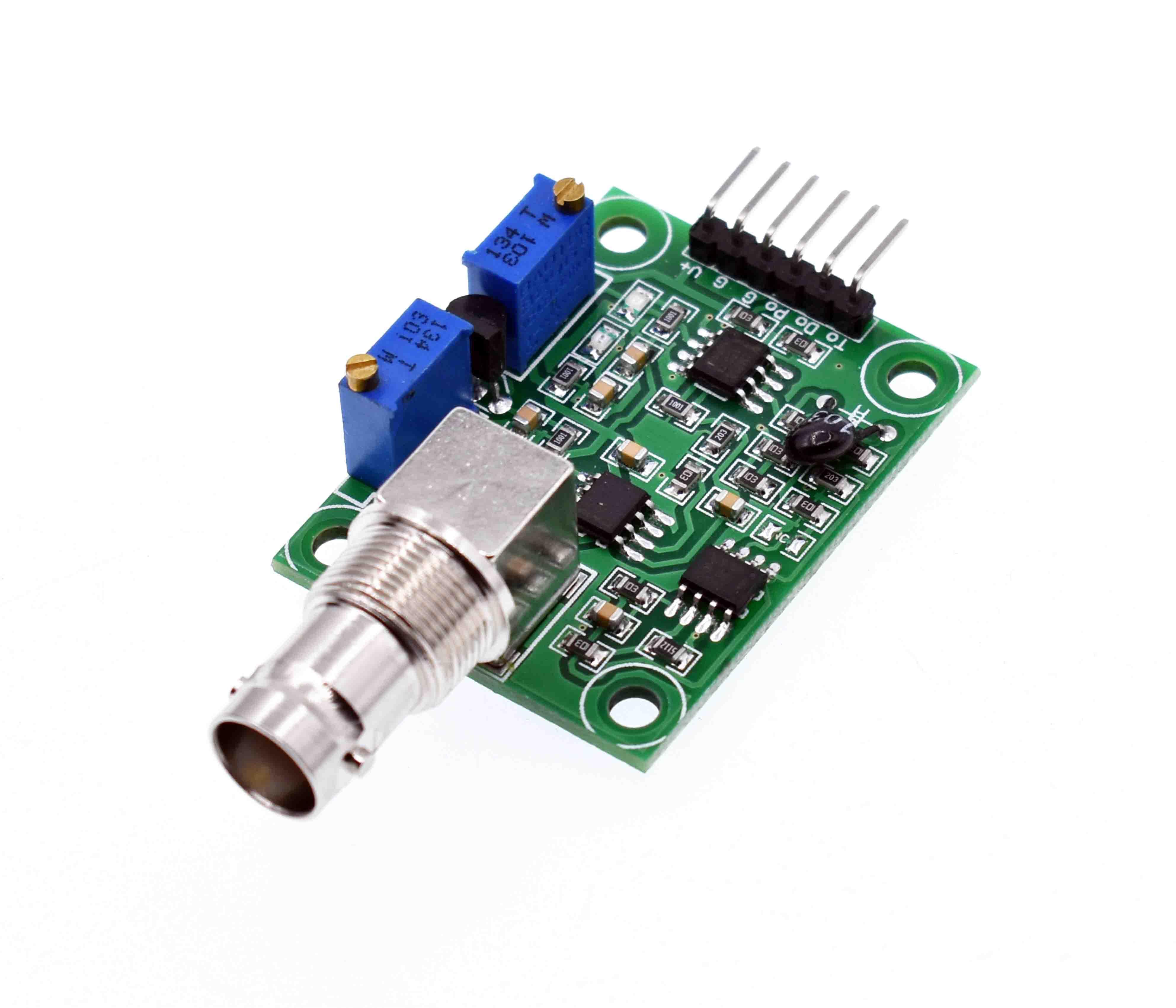 Liquid PH Value Detection detect Sensor Module Monitoring Control Board For Arduino BNC Electrode Probe Controller