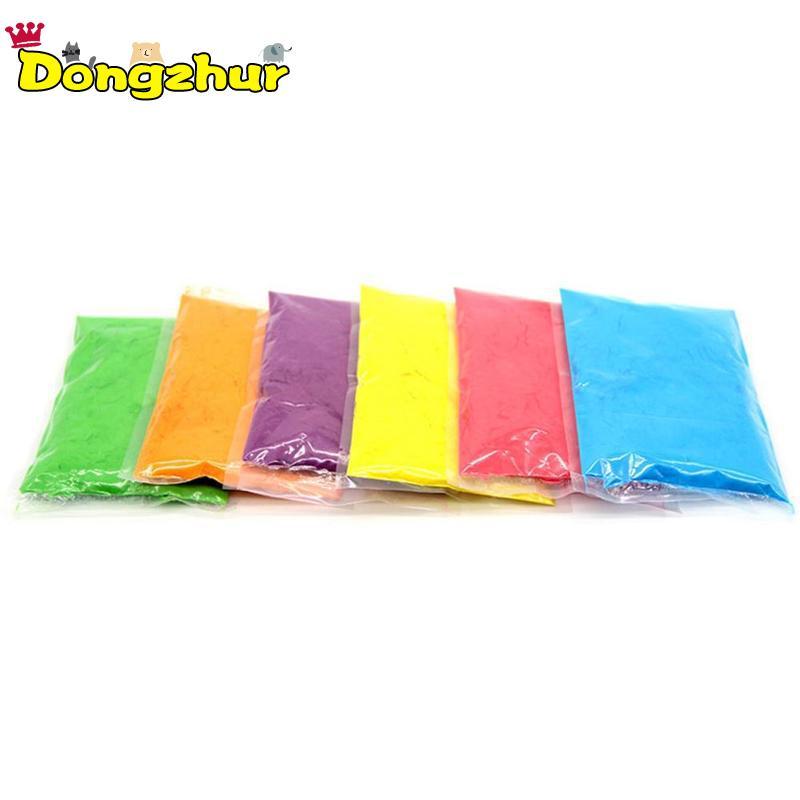 100 g/saco colorido pó festival adereços de amido milho arco-íris correndo lance em pó novidade festival brinquedo cor aleatória 1pcs
