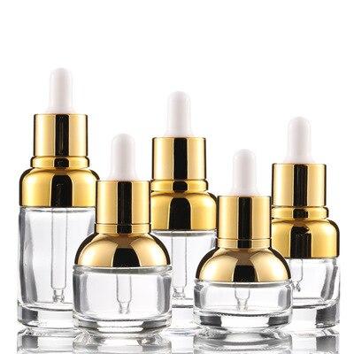 20 ml 1 oz 50ml cosmetic glass dropper bottle Refill Tea Tree Oil Essential Aromatherapy Perfume Container Liquid Pipette Bottle