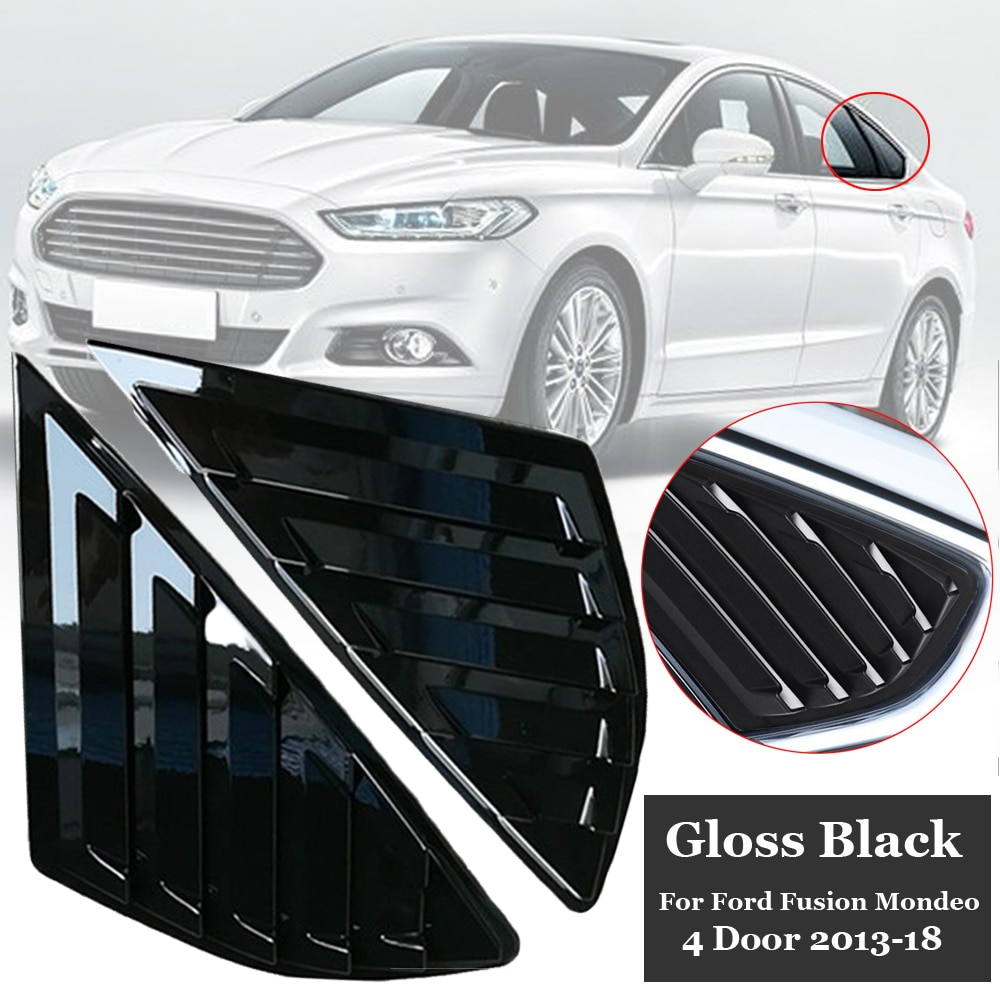4 tampas de porta 2013-2018 lado ventilação capa para ford fusion para mondeo 1 par traseiro