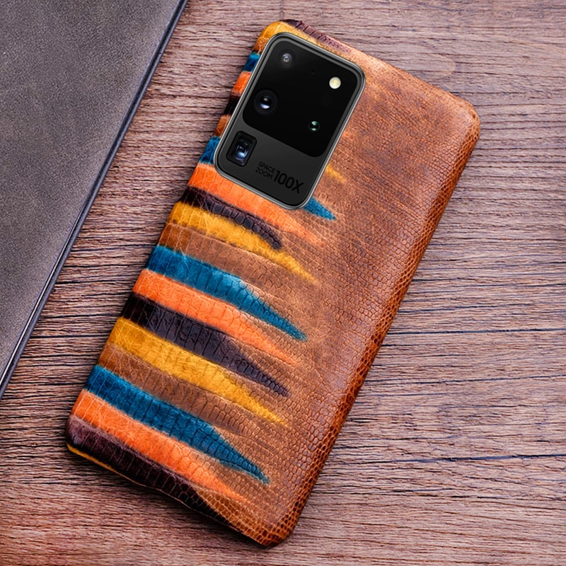 Чехол-накладка для Samsung Galaxy S20, S10, S10e, Note 10, 20, S8, S9 plus, кожаный