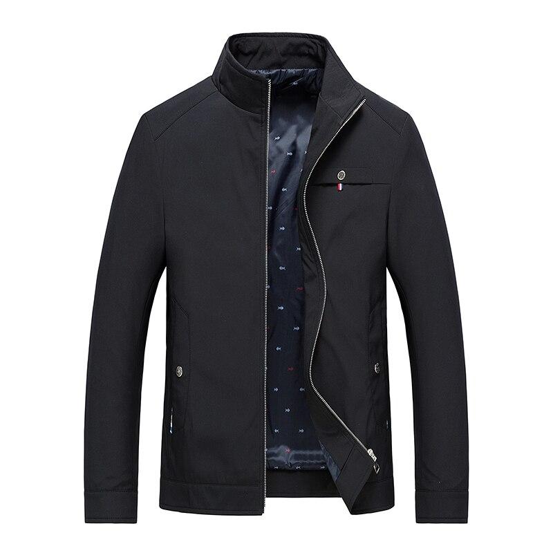 Куртка мужская демисезонная на молнии, повседневная спортивная одежда, верхняя одежда