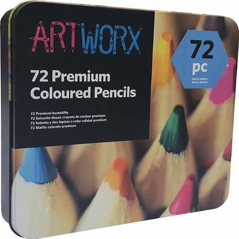 Conjunto de lápices de acuarela profesional de 72 colores... dibujo artístico... drawing lápices... AI arte escolar... suministros estac