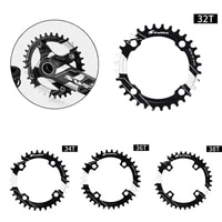 104bcd 32 38t mtb crank arms for bicyclecrankset spare parts for bicyclebike chainring narrow wide round road bicycle chainwheel