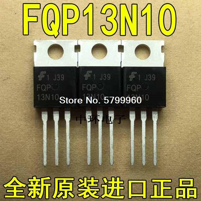 10 Stks/partij FQP13N10L 13N10L 13A100V TO220 Npn Transistor