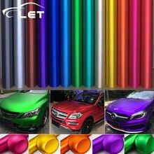 car styling Matte Chrome Vinyl Car Wraps Sticker Color Changing Car Sticker With Air Bubble Auto Accessories