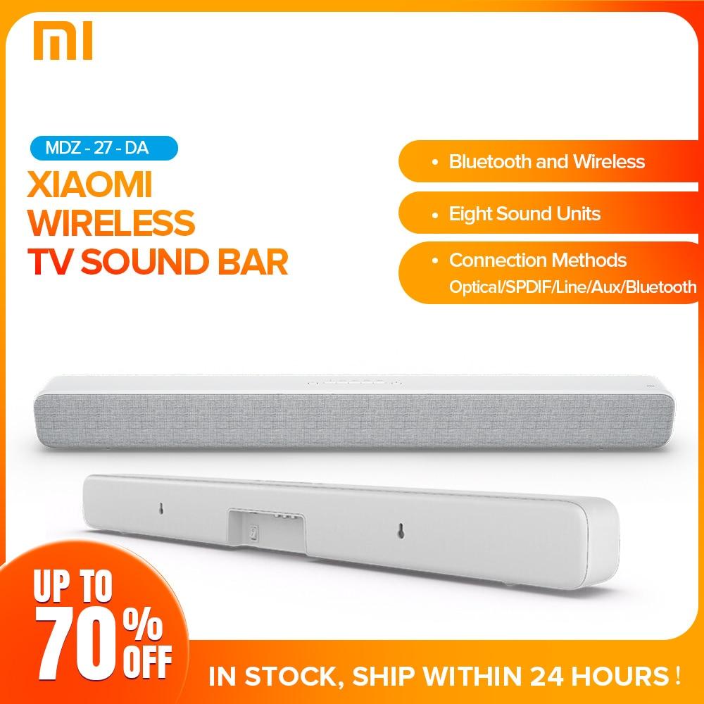 Xiaomi אלחוטי קול בר Bluetooth רמקול Soundbar חכם טלוויזיה קולנוע ביתי אודיו AUX SPDIF אופטי תמיכת Sony סמסונג LG טלוויזיה
