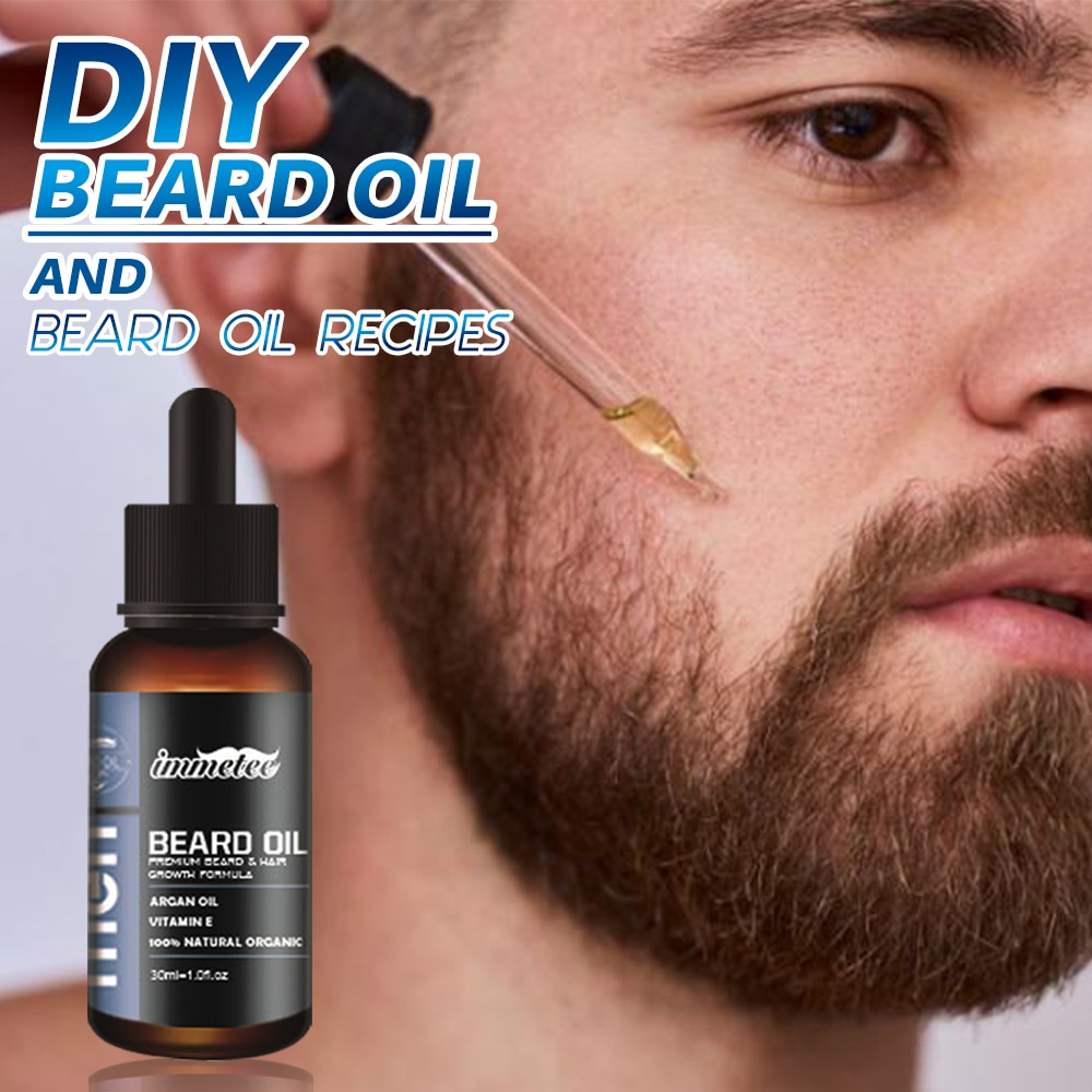 купить Natural Organic Beard Oil Hair loss Products Beard Care Essential Oil and Beard Growth Oil Men Beard Nourishing Enhancer в интернет-магазине