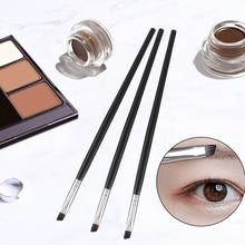 Angled Eyebrow Brush Gel Eyeliner Brush Makeup Brushes Beauty Blending Eye Professional Make Up Beve