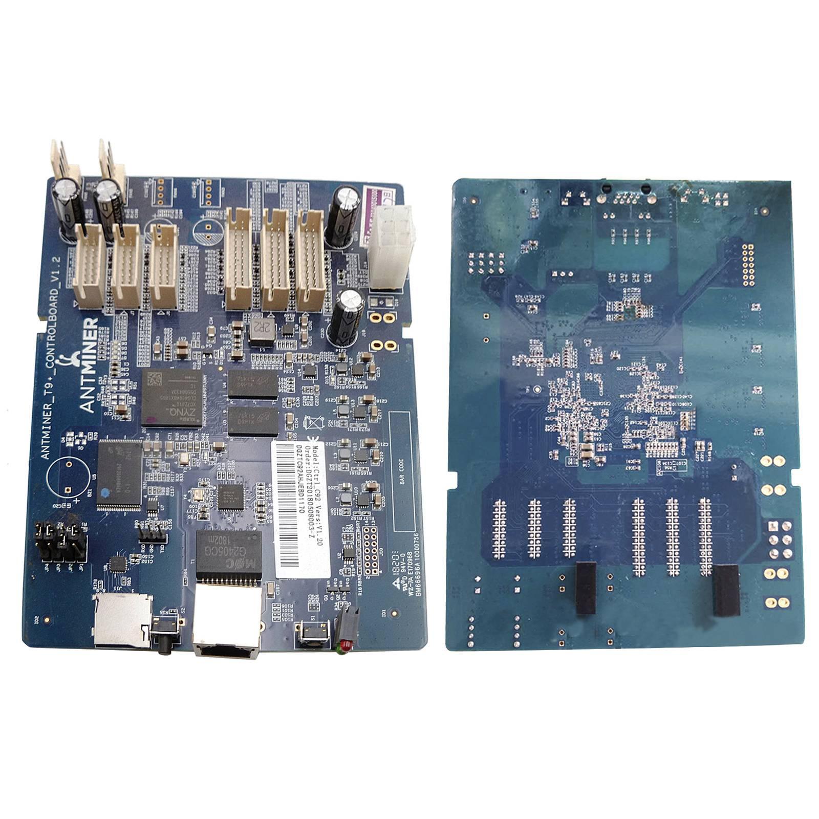 تستخدم جيدة ل Antminer E3 B3 T9 + S9 B3 E3 لوحة تحكم 13.5T أو 14T (3 مجلس) التعدين مجلس 2X مروحة موصل إيثرنت 10/100Mbps