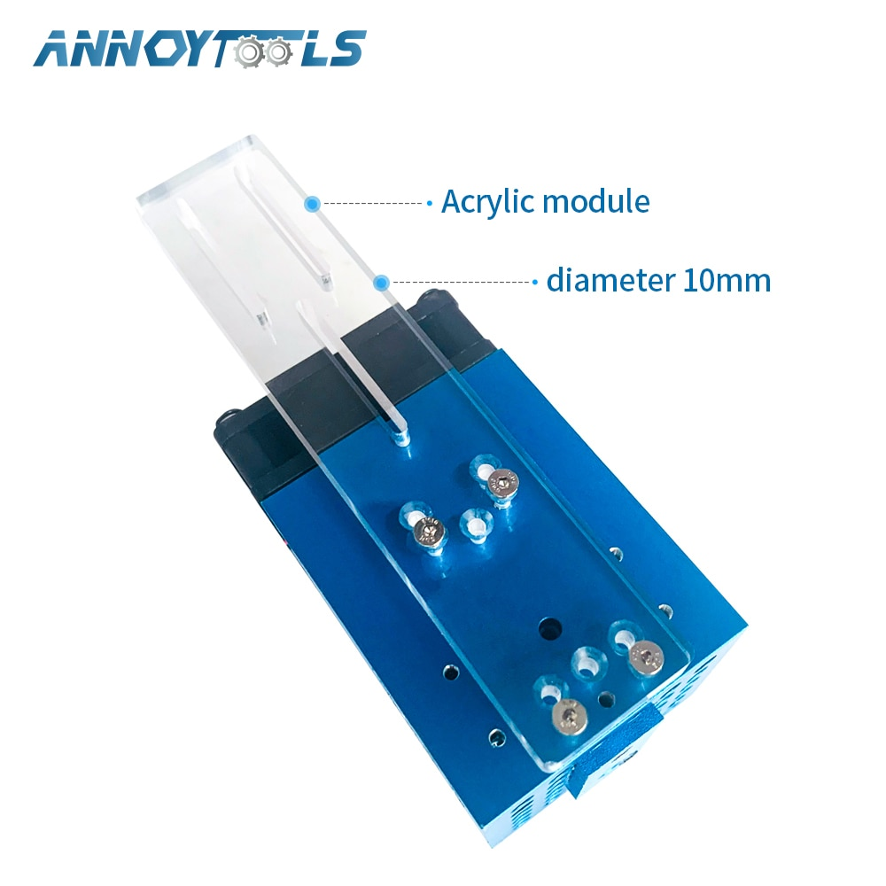 450nm 80W 40W Professional Version Focal Fixed TTL Module laser module compressed spot technology laser head laser cutting tool enlarge