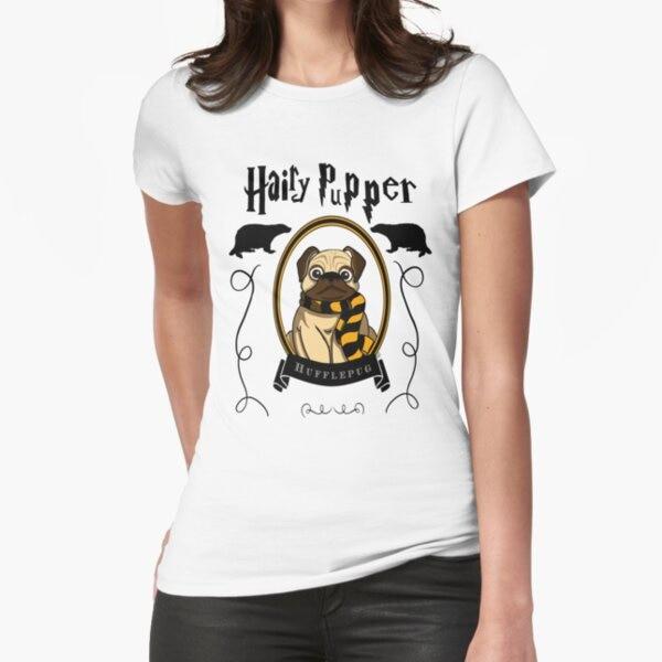 hairy maclary scattercat Hairy Pupper Hufflepug T-Shirt Print Top