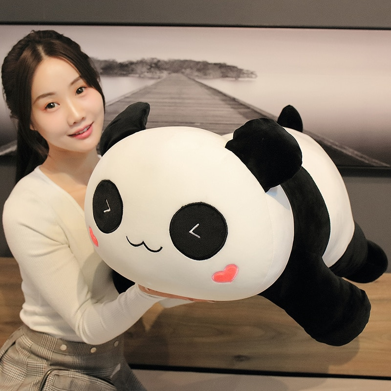 Nice Hot Huggable Cute Big Panda Plush Toy Soft Stuffed Cartoon Animals Bear Doll Birthday Christmas Gift Sofa Pillow Cushion  - buy with discount