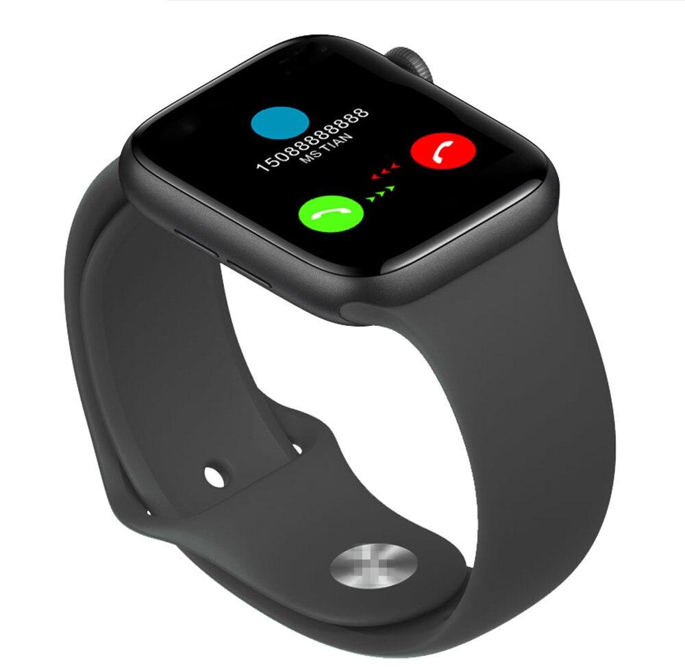 Q99 Men Women Smart Watch Iwo 18 Series Sport Modes smartwatch Full Touch Fitness Tracker Heart Rate Monitor For apple watch