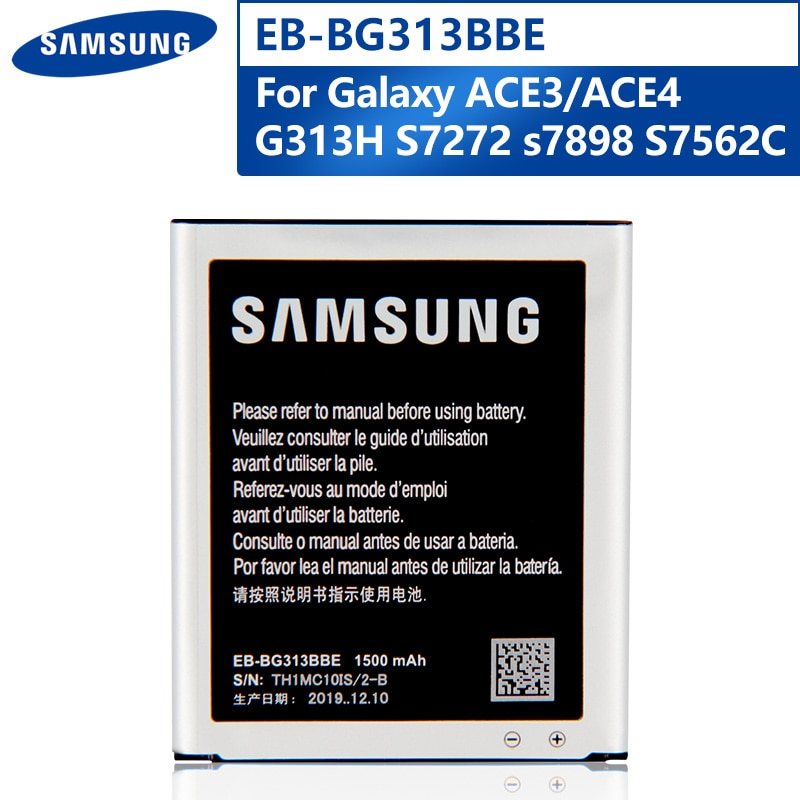 Original Replacement Phone Battery EB-BG313BBE For Samsung G318H G313m J1 Mini Prime Authentic Rechargeable Battery 1500mAh enlarge