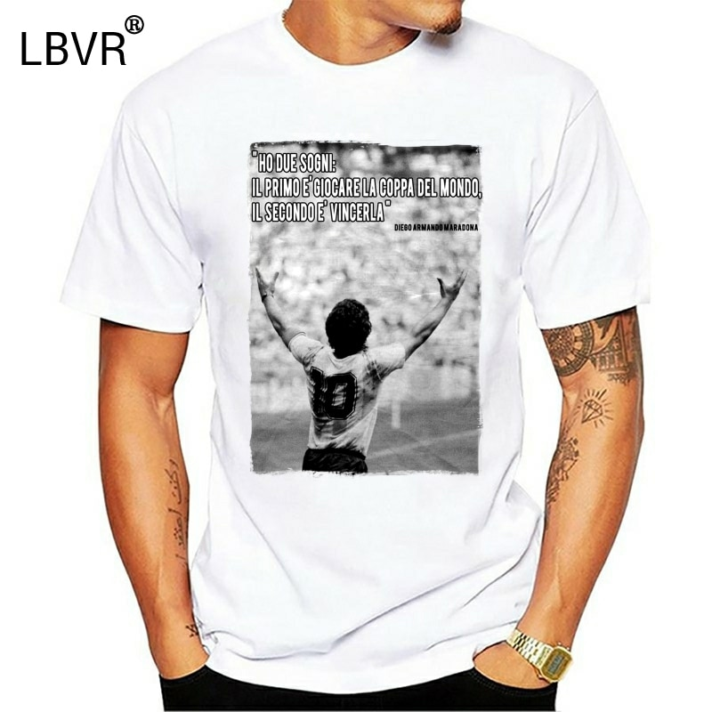 "Camiseta ""cita famosa de la Copa MARADONA ARGENTINA del mundo"", IDEA de regalo"