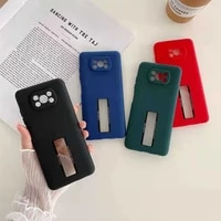 fashion shockproof color thin sofe silicagel logo hole phone case for xiaomi redmi poco x3 nfc note 10 10s 4g 5g pro max cover
