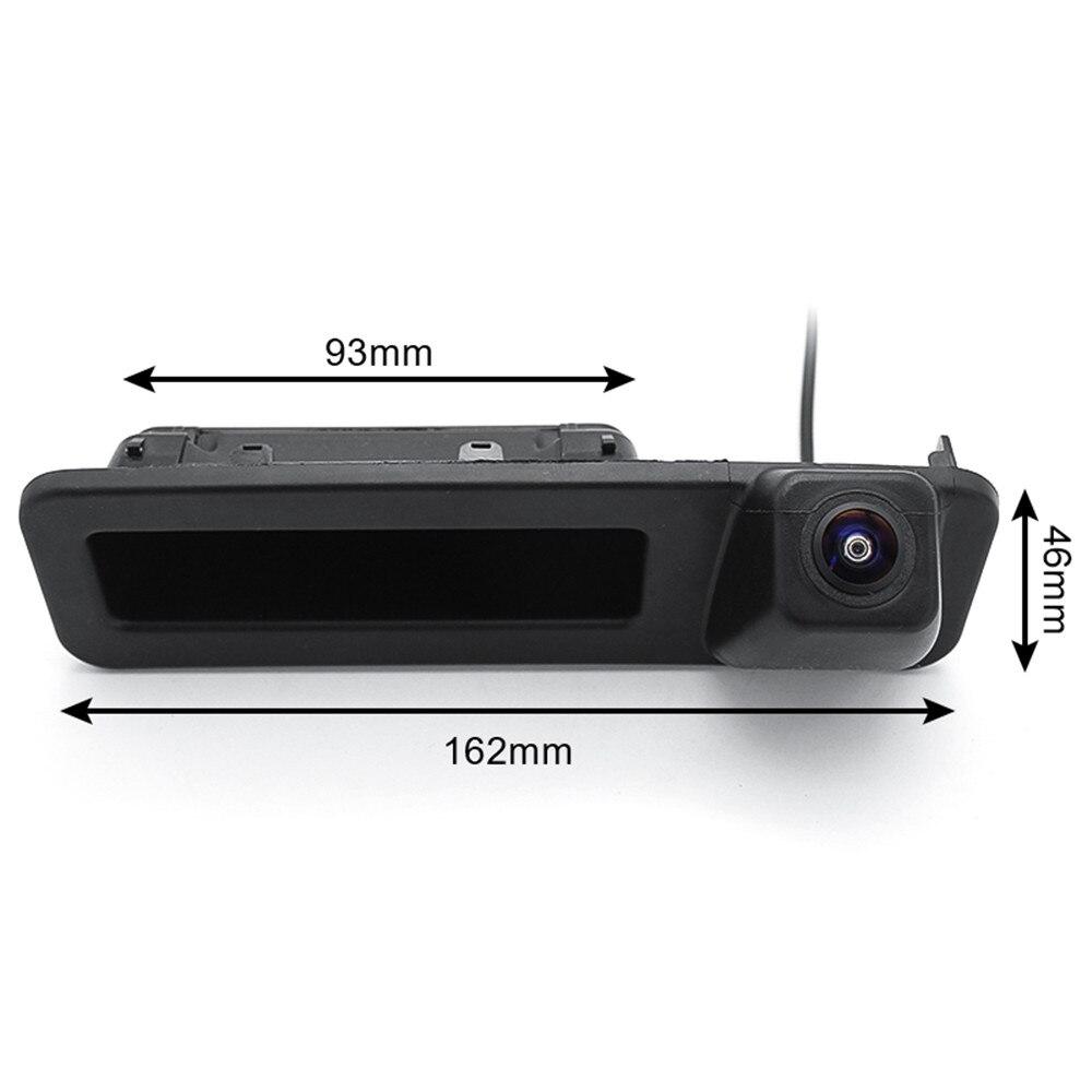 Cámara de visión trasera de coche con manija de maletero HD de 1080P para BMW X1 X3 X4 X5 F30 F31 F34 F07 F10 F11 F25 F26 E84, cámara de marcha atrás de coche