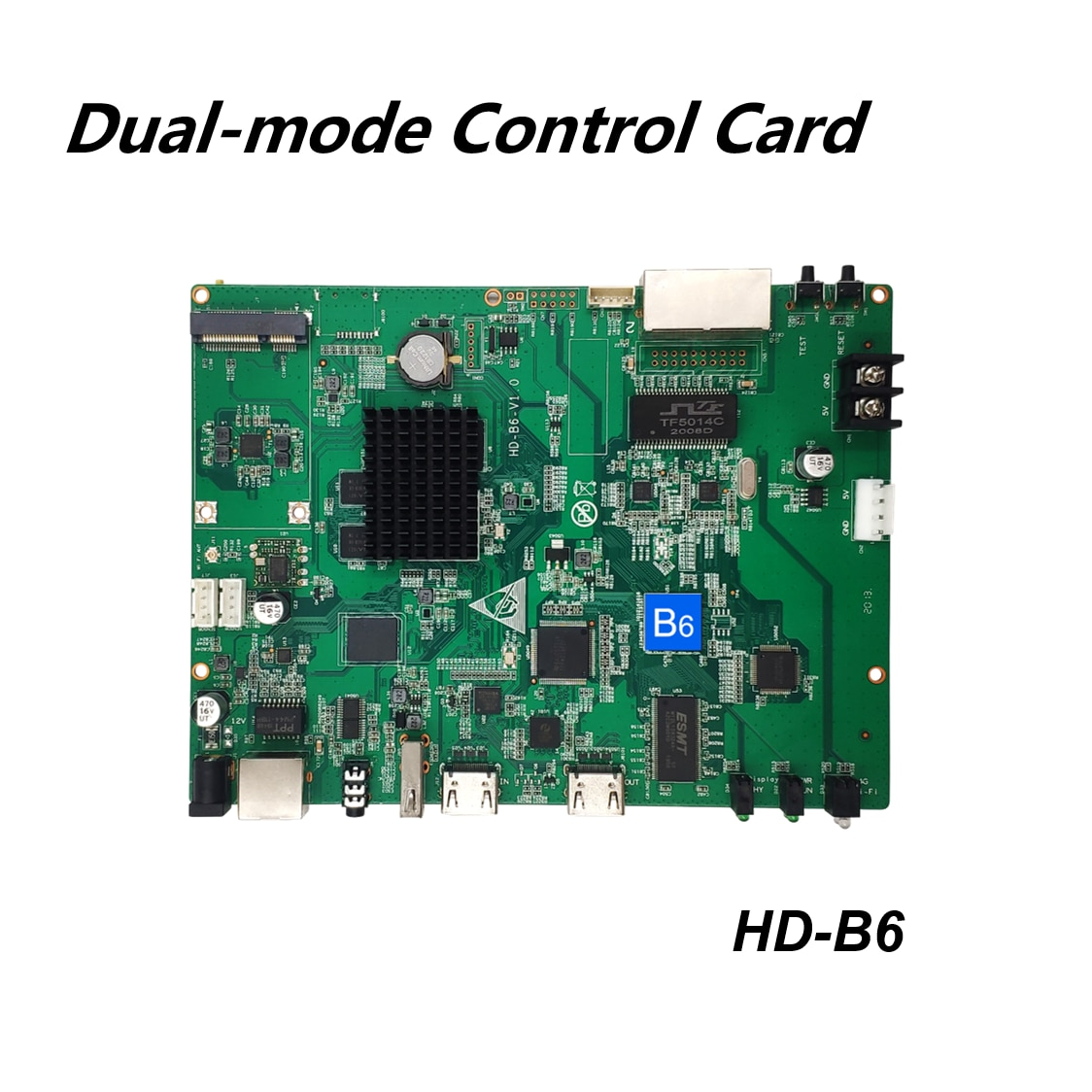 Huidu المزدوج وضع LED بطاقة التحكم HD-B6 لوحدة شاشة led