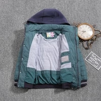 jacket for boys 2021 europe russia spring autumn thick parker coat peacock blue coats with a hood height 110 134cm 4a 8a g308