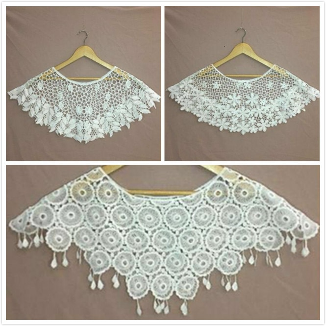 Fashion Hand Crochet Hollow Cotton Lace Finished Knit Blouse Small Shawl Explosion Personality Sunscreen Wild Anti-small Vest