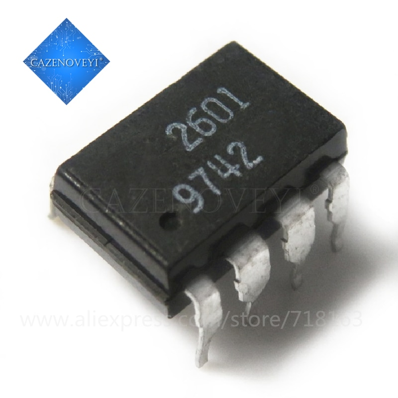 10 unids/lote HCPL-2601 HCPL2601 A2601 2601 DIP-8 SMD-8