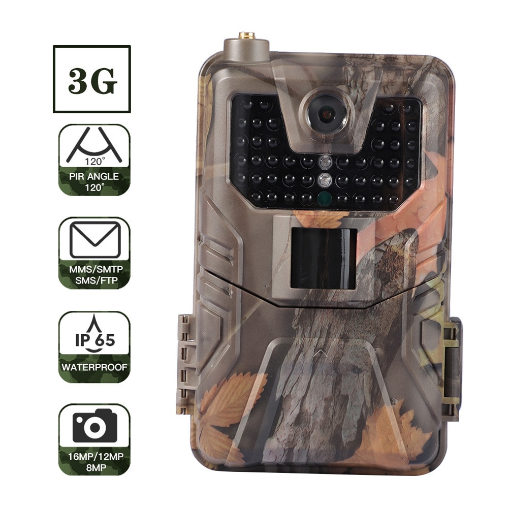 HC900G 16MP 1080P Hunting Trail Camera 3G MMS SMTP SMS FTP  Infrared Night Vision Cameras Outdoor Wildlife Scouting Camera