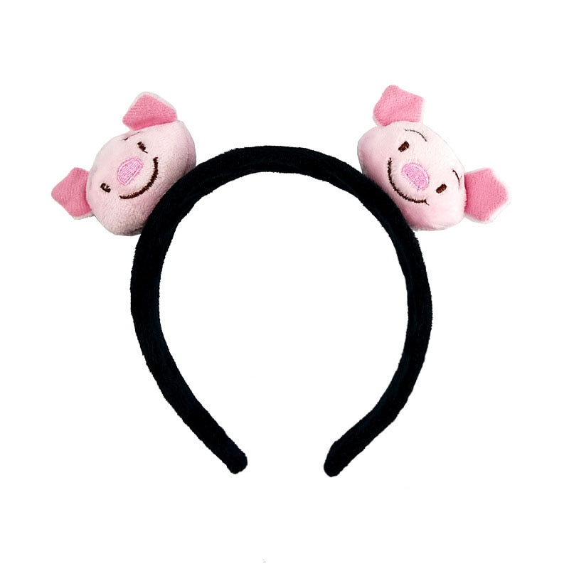 Bonito animal de pelúcia pato porco coelho cabelo hoop menina bandana acessórios para o cabelo festa aniversário cosplay carnaval headwear