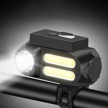 XANES XL42 650LM XPE Headlight Far Near Distance Bike Front Light USB Rechargeable 4 Mode 90 Adjustable Waterproof Torch Lantern