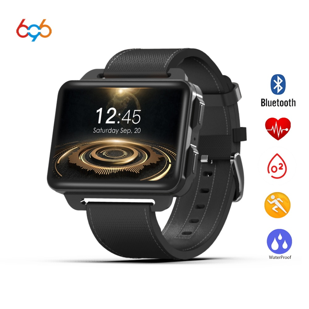 696 nuevo reloj inteligente DM99 GPS MTK6580 Android 5,1 Smartwatch 2,2 pulgadas pantalla 1200 Mah Batería 1GB + 16GB Wifi 3G para iphone huawei