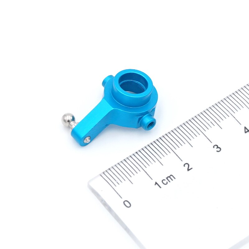 for Wltoy A959 A949 A969 A979 K929 1/18 RC Car Aluminum Front Rear Steering Hub Base C Carrier Knuckle Upgrade Kit enlarge