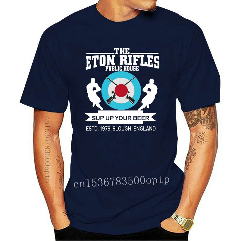 New The Jam Inspired T-Shirt Homage The Eton Rifles Pub Original Design Paul Weller