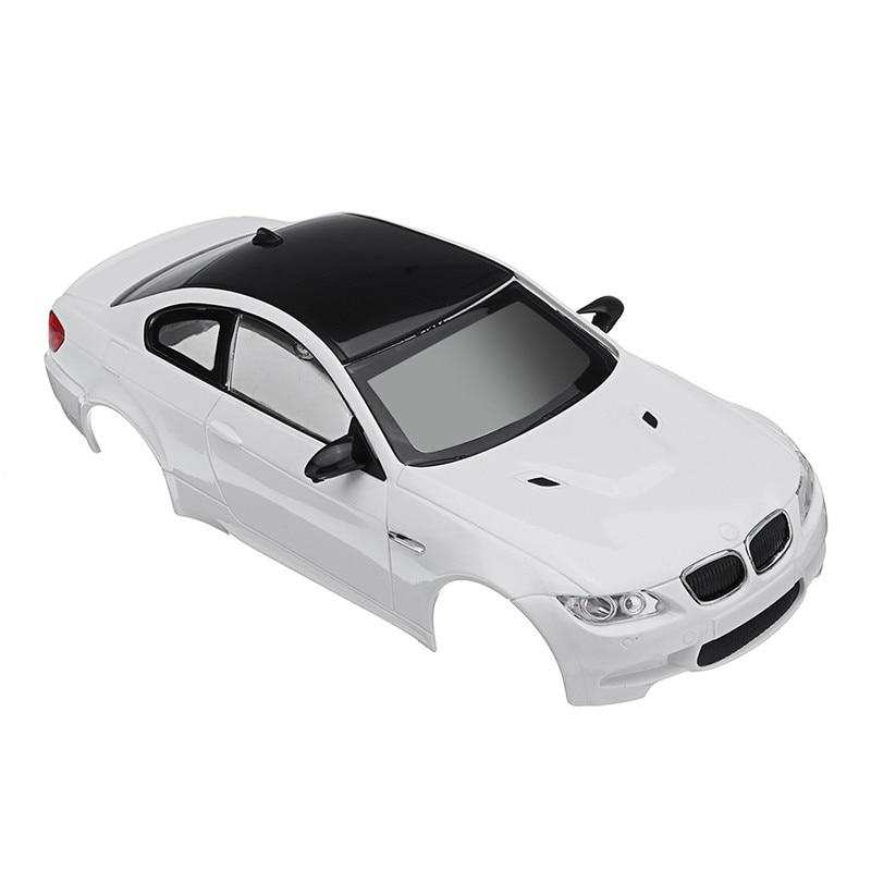 Firelap RC Car Body Shell for 1:28 Das87 Wltoys Mini-Q RC Model Vehicle White Radio Control Car Body Shell Model Toys RC Parts