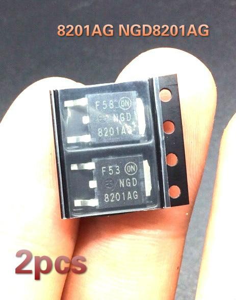 2шт 8201AG NGD8201AG для BMW N20 Hyundai Elantra катушка зажигания привод транзистора IC чип транспондер