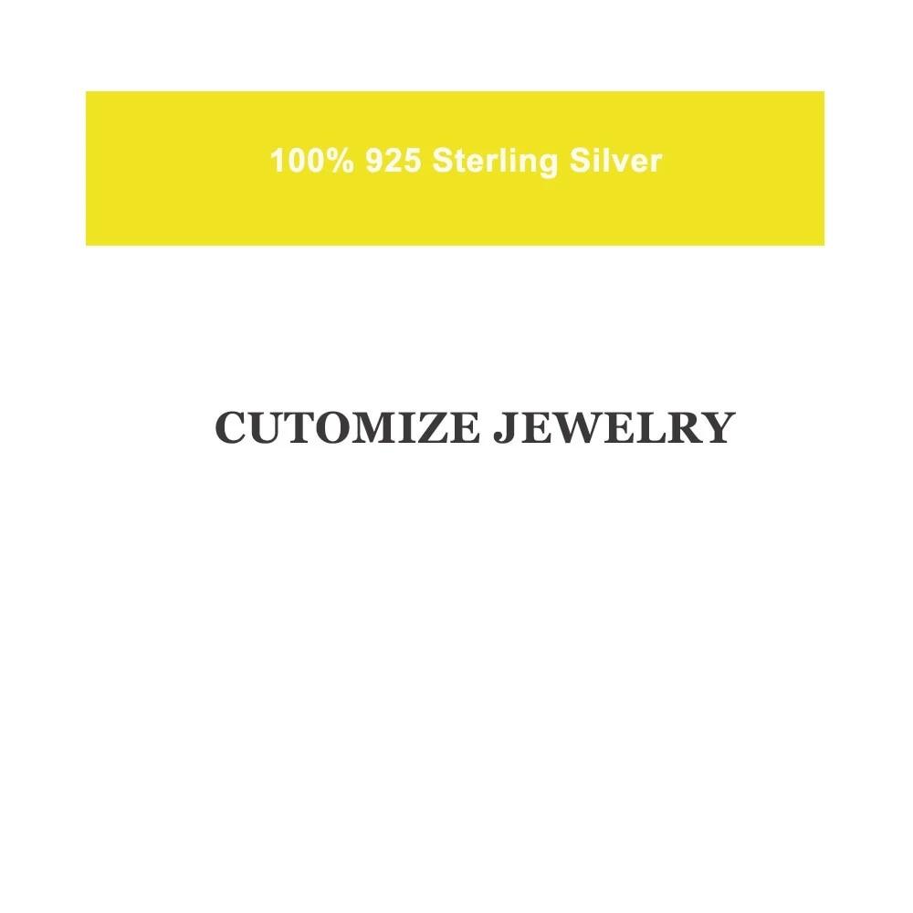 KIKICHICC 925 Sterling Silver Custom Jewelry