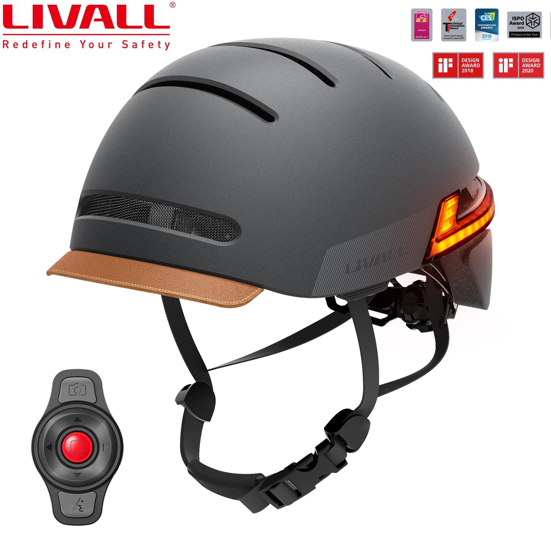 LIVALL جديد BH51M الذكية خوذة الدراجة البخارية بلوتوث دراجة خوذة مع مستشعر تلقائي LED الجانبين المدمج في هيئة التصنيع العسكري مكبرات الصوت SOS تنبيه