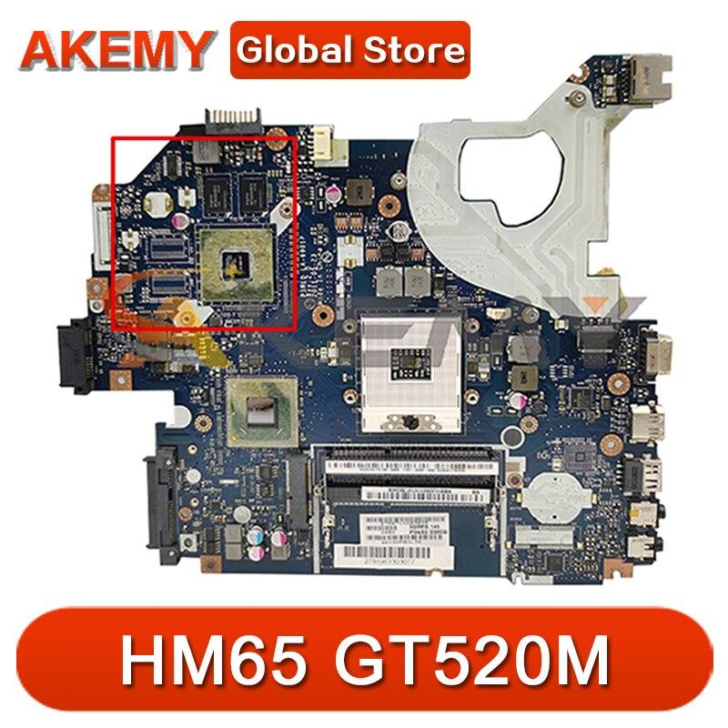 P5WE0 LA-6901P اللوحة الرئيسية لشركة أيسر أسباير 5750 5750G 5755 5755G اللوحة الأم للكمبيوتر المحمول مع HM65 GT520M 100% اختبارها بالكامل