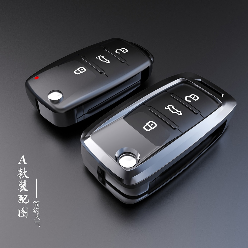 for volkswagen vw new polo new jetta 2016 multi function steering wheel audio control buttons Aerospace zinc alloy Key Cover Case For Volkswagen For VW Passat Golf Jetta Bora Polo Sagitar Tiguan New Auto Key Cover keyless