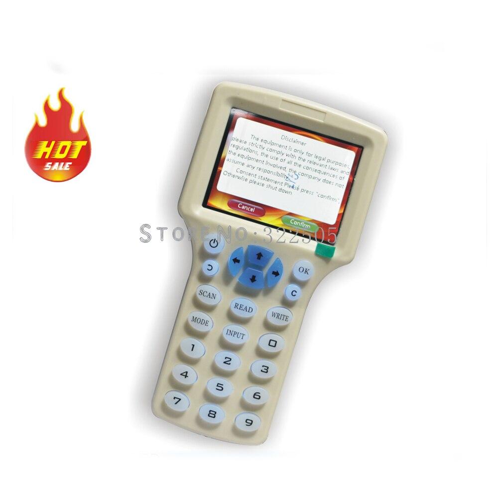 Считыватель карт доступа RFID с 10 ИС/ID частотой, считыватель карт с NFC, записывающее устройство для шифрования, Дубликатор чипов UID, копировальный аппарат для умных ключей