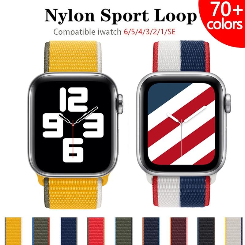 nylon-strap-for-apple-watch-band-44mm-40mm-42mm-38mm-44-mm-sports-loop-smartwatch-wristband-belt-bracelet-iwatch-3-4-5-6-se-band