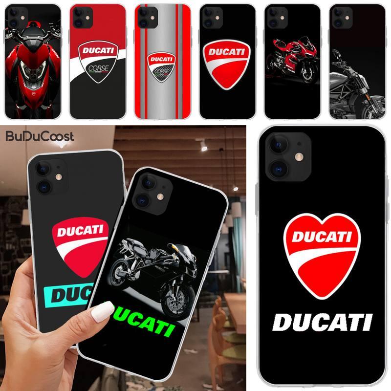 Jomy ducati corse logotipo luxo design exclusivo capa de telefone para iphone 5c 5 6s plus 7 8 se 7 8 plus x xr xs max 11 pro max