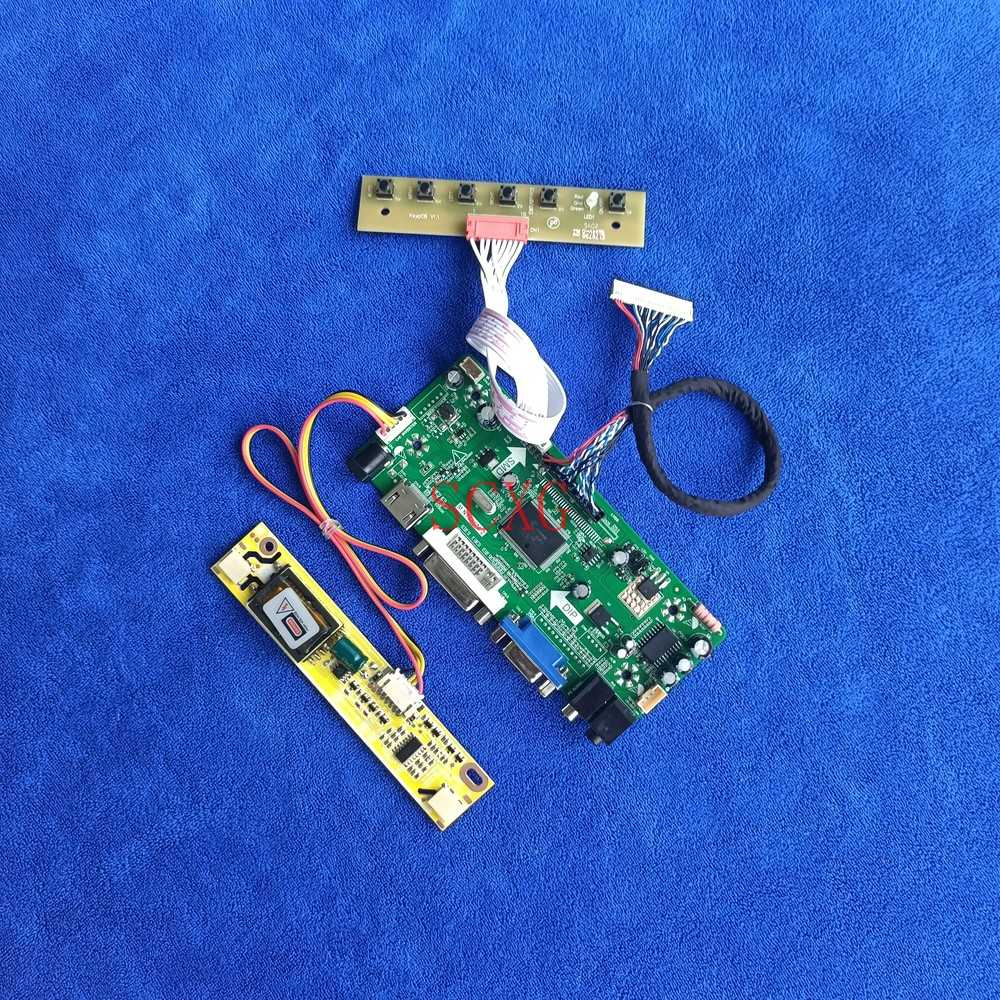 M.NT68676 محرك تحكم مجلس شاشة الكريستال السائل 1440*900 2CCFL لتقوم بها بنفسك عدة صالح N170C1/N170C3/N170C4 LVDS 30 دبوس DVI VGA HDMI-متوافق