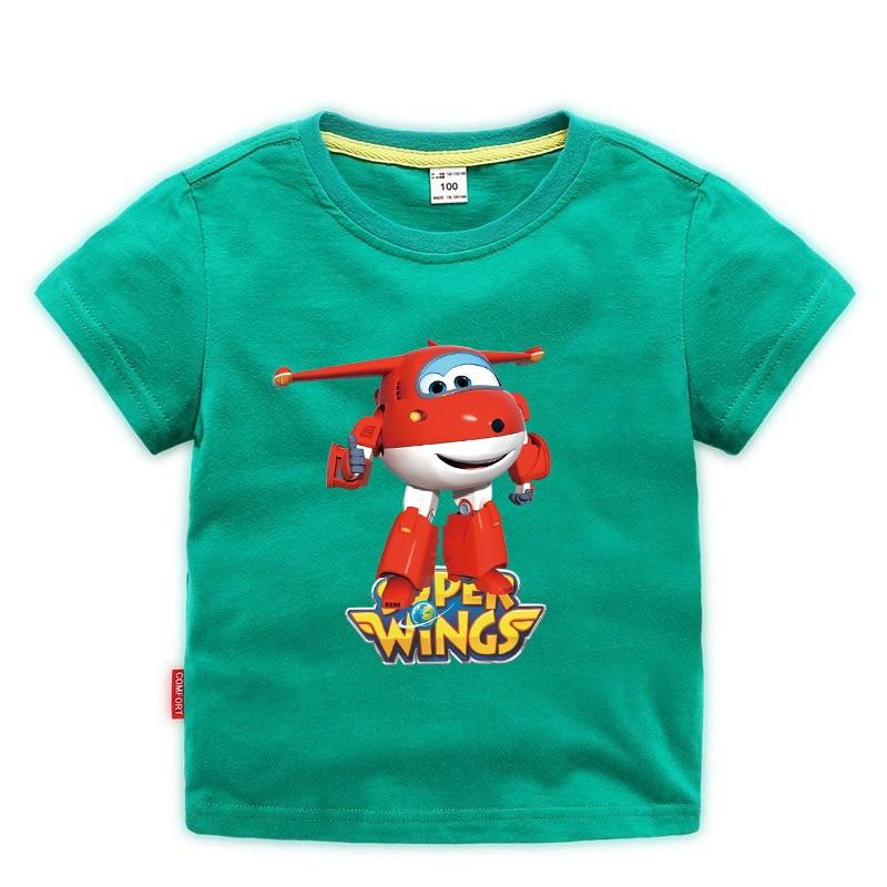 Summer 2021 Kids T-shirt Tops Baby Boy Cotton Short Sleeve girls Children Cartoon basic color clothes boys tees