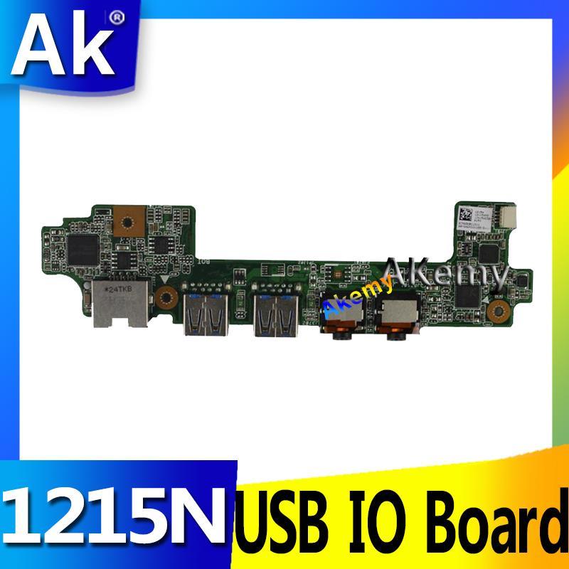 Ak para asus 1215 1215n 1215 p 1215n/vx6 computador portátil de rede áudio usb io placa placa placa som interface