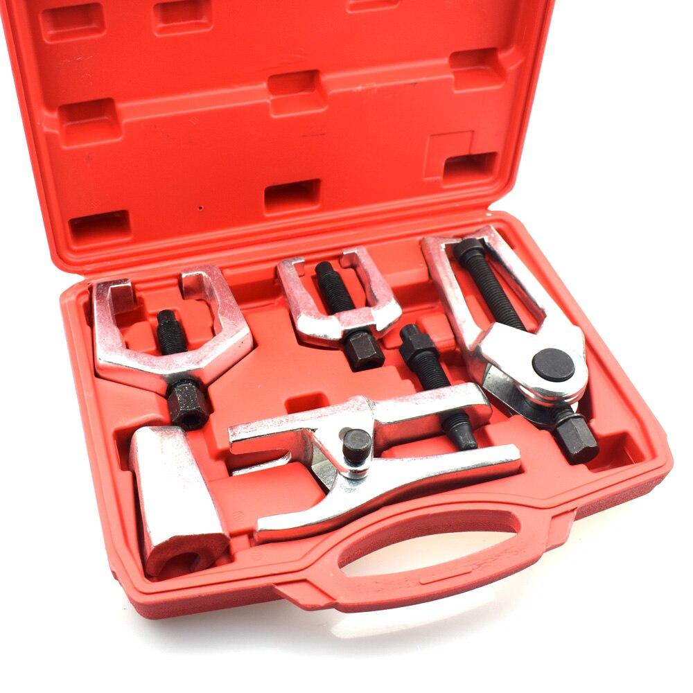 5 uds separador de juntas de bola, barra de amarre, tirador de Brazo Pitman, Kit de herramientas de servicio de extremo frontal